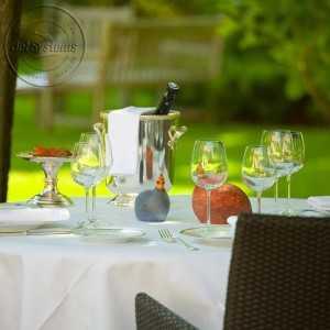 Héli restaurant Manoir de la Roseraie Grignan