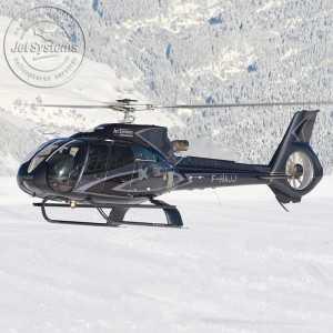 Baptême de l'air en hélicoptère à Courchevel